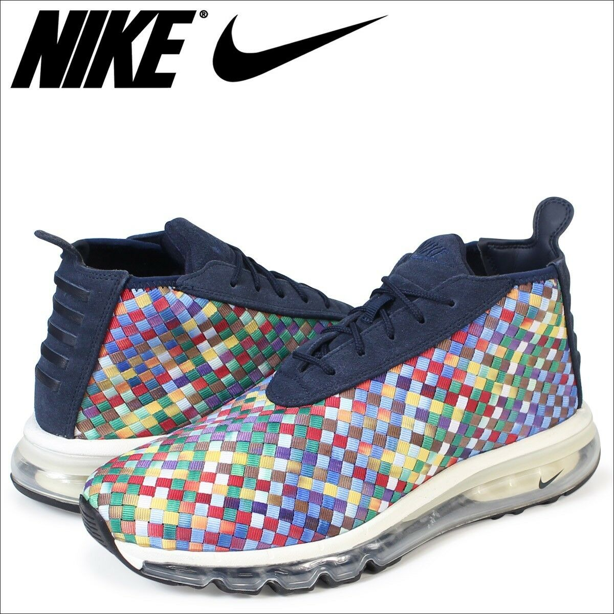 Nike Air Max Woven Boot SE AH8139 New Without Box Multicolor Men Size 10.5