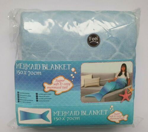 NEU Meerjungfrau Hai Krokodil Decke Schlafsack Sofa Decke Weihnachten Geschenk