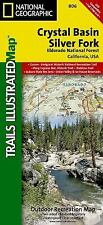 National Geographic Trails Illustrated CA Crystal Basin / Silver Fork Map 806
