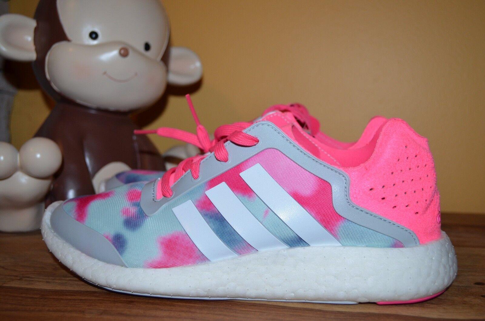 New wmns adidas pureboost w scarpette rosa / b26503 bianco / grigio 8,5 b26503 / puro slancio 8ac7e4