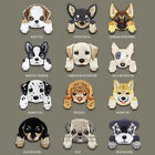 New Dog Embroidered Applique Iron  Patch design DIY Sew Iron On Patch Badge