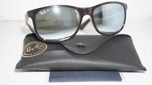 7894e0727e Ray Ban New Sunglasses ANDY Tortoise Blue Mirror Polariz RB4202 710 ...