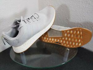 Adidas Nmd R2 Boost Grey One Grey Two Mens 13 Grey Gum Solar