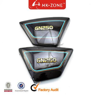Side Panels Suzuki GN250 Black Pair