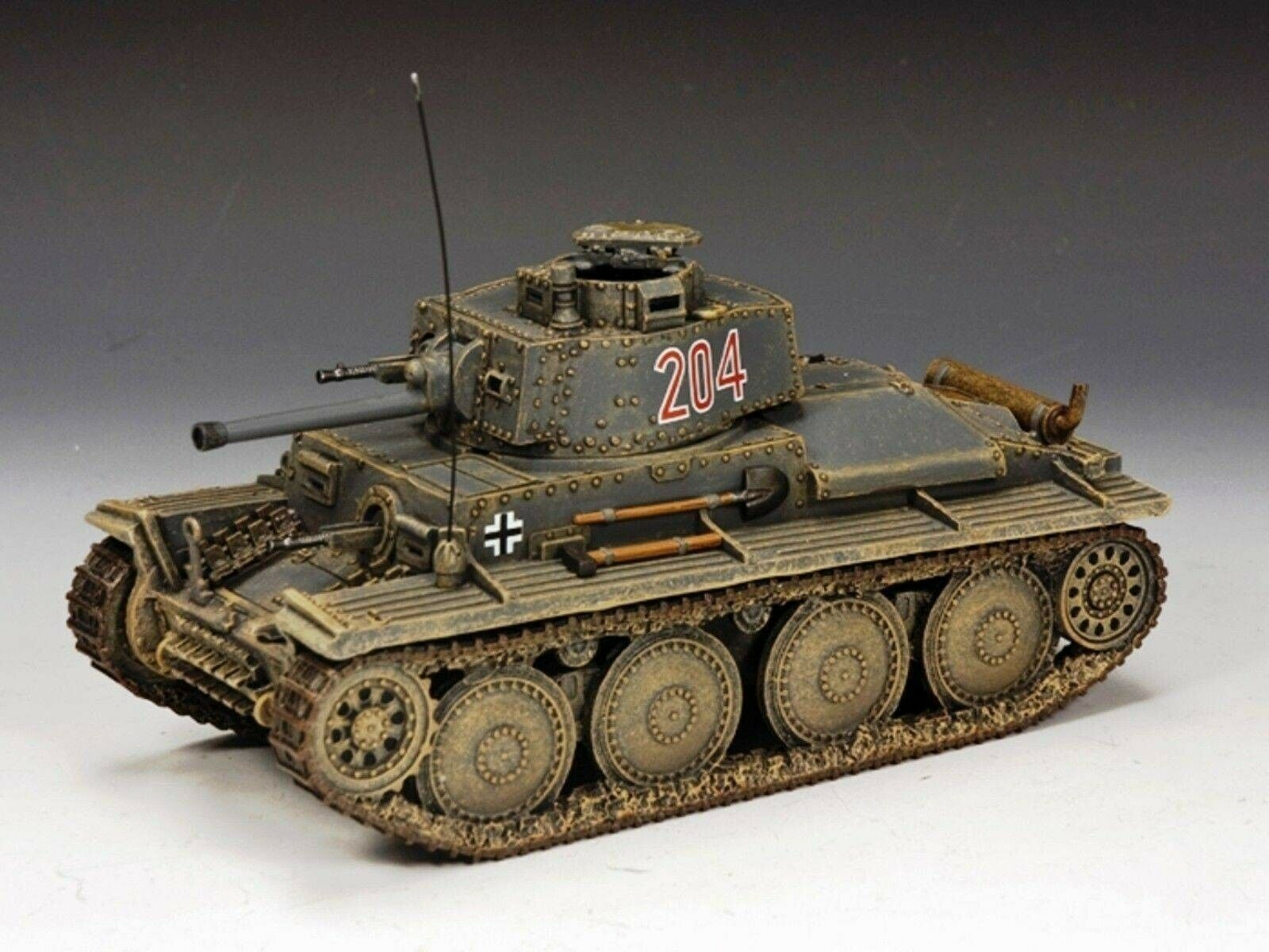 WOW EXTREMELY RARE King & Country WS224-3 Panzer 38t Barbarossa LE 100 BNIB