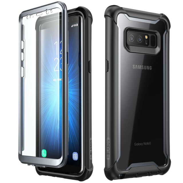 separation shoes f7bf9 99456 Samsung Galaxy Note 8 Case, i-Blason Ares Full Body Cover With Screen  Protector