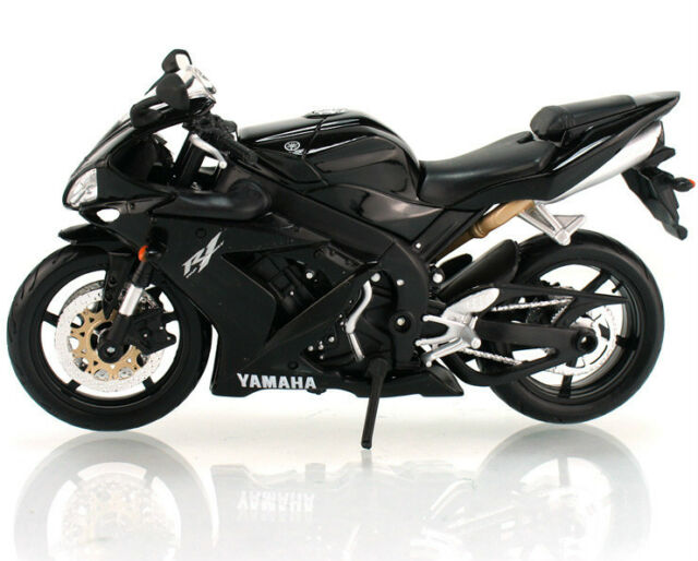 M006-3 Maisto 1:12 Yamaha YZF R1 Black Motorcycle Model Diecast Toy For Kids