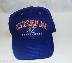 Image is loading NWT-NBA-WASHINGTON-WIZARDS-SNAPBACK-VINTAGE-CAP d1f41ed41652
