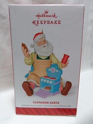 2014 HALLMARK ORNAMENT Toymaker Santa #15 in Series Loc B31