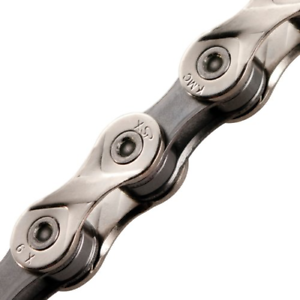 1//2 x 11//128-Inch KMC KMC023 X9.93 Bicycle Chain 9-Speed 116L Silver//Black