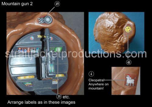 Boulder Hill BENZINAIO Ultimate Kit Di Aggiornamento Adesivo etichetta! Mask M.A.S.K