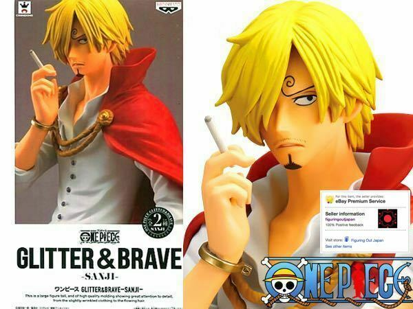 ☀ One Piece Vinsmoke Sanji Banpresto Glitter & Brave Figure Figurine Japan ☀