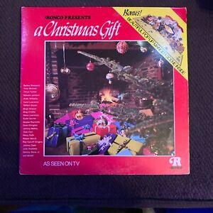 A Christmas Gift - vintage OG 1974 RONCO vinyl LP- Steve Lawrence Eydie Gorme