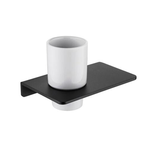Matt Black//Grey Rust Proof Bathroom Accessories Wall Mounted Easy Install Modern