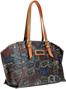 Borsa Spalla Donna Moka Sofie Alviero Martini Bag Woman Moka Shoulder