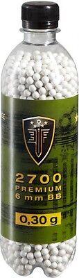 Softairkugeln Airsoftkugeln Elite Force Premium 2700er 0,30g weiß 6mm Munition