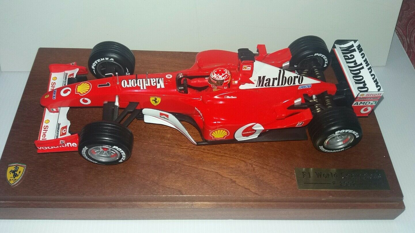 Ferrari f1 1 18 f2002 limited edition