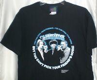 Three Stooges Pick Your Friends T-shirt Medium W/ Tags