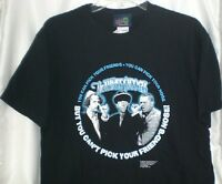 Three Stooges Pick Your Friends T-shirt Medium W/ Tags