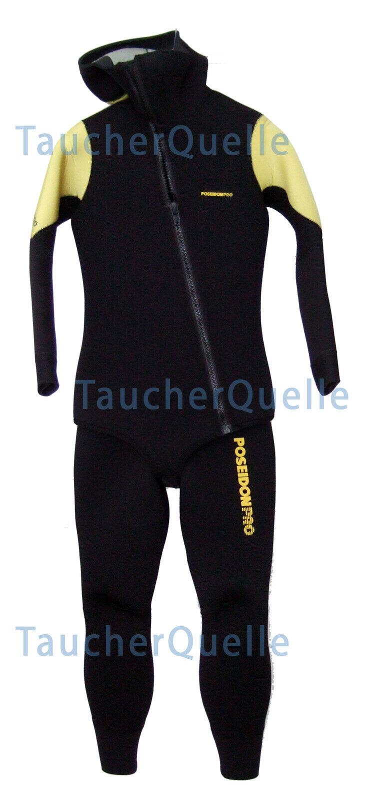 Poseidon Pro Dive Suit, Set 7mm - Long John and Ice Vest -männer- SPECIAL OFFER