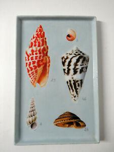 Fabienne Jouvin Designer Keramik Platte / Tablett - shell pattern tray