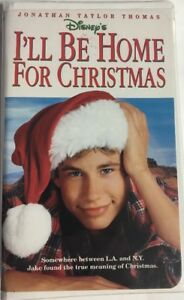 Ill Be Home For Christmas.Details About Ill Be Home For Christmas Clamshell Vhs Tape Movie Jonathan Taylor Thomas