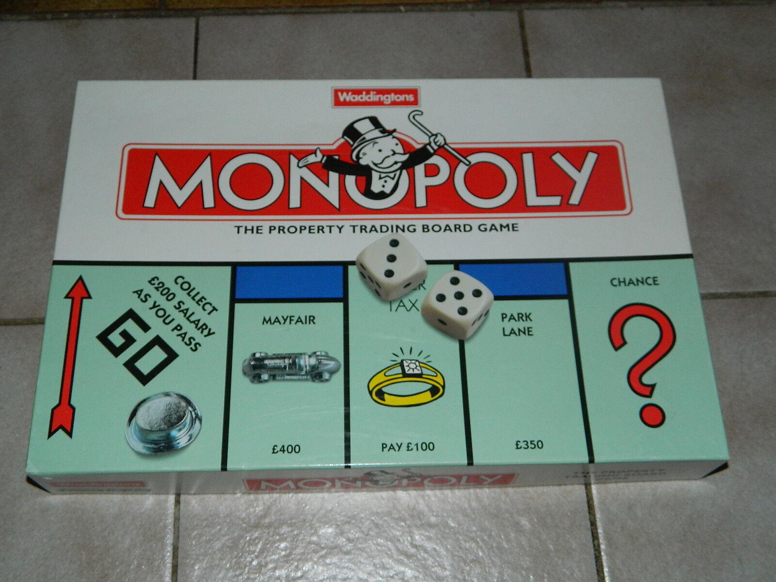 Monopoly - Waddingtons Waddingtons Waddingtons - Klassisches Monopoly in englischer Sprache - komplett 8fc2e9