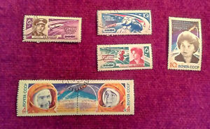 STAMPS-OF-RUSSIA-X-16-1963-1965-VERY-FINE-2-ATTACHED-NEVER-HINGED