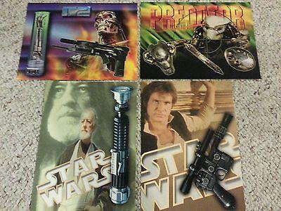 ICONS ORIGINAL Collectible Promo Postcards Predator Star Wars Terminator Set 4