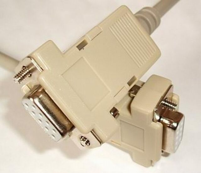 Câble Null Modem Null Modem Câble 2m 9pol - 9pol récepteur