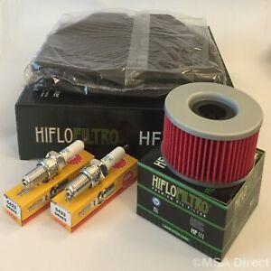 Luftfilter Hiflo HFA1210/Honda CB 400/N /1984 2cil. 1981/