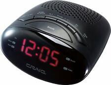 "Magnavox Digital Dual Alarm Clock AM//FM Radio,Dimmer,Snooze 0.6"" Digital LED"