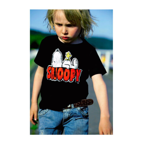 Comics Dog Bird Snoopy /& Woodstock Childrens Kids T-Shirt LOGOSHIRT Peanuts