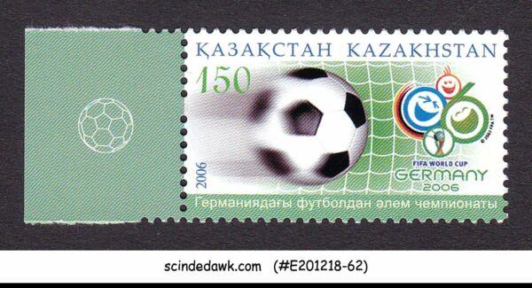 Kazakhstan - 2006 Fifa Coupe Du Monde De Football Allemagne - 1 V Neuf Sans Charnière Des Friandises AiméEs De Tous