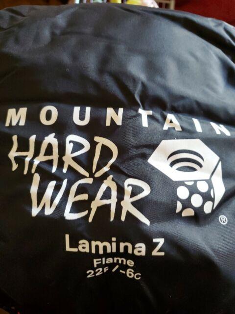 Mountain Hardwear Unisex Lamina Z Sleeping Bag Blue Navy Sports Outdoors Hooded