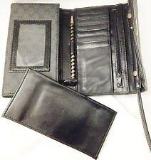 "Gray 4.5X7"" Carryland Shoulder Bag Organizer Purse W 48"" Strap & 17 Compartments"