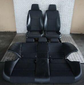 BMW-3-Serie-E90-LCI-Sollevatore-Riscaldato-pelle-Nera-Panno-Sedili-Interni-Door
