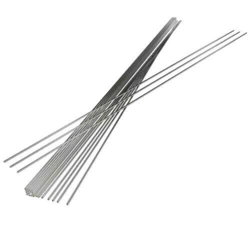 2x500mm Niedertemperatur Aluminium Schweißen Löten Löten Reparaturstangen Neu