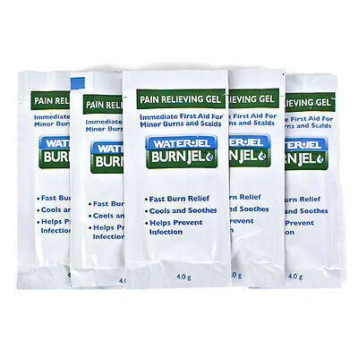 WaterJel Burn Gel Relief for Minor Scalds, Burns First Aid *Individual Sachets*