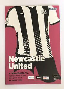 Newcastle-United-v-Manchester-City-Premier-League-Programme-2019-2020