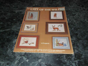 Call-of-the-Wild-Book-85-by-N-Carole-Brown-Charted-Designs-Counted-Cross-Stitch