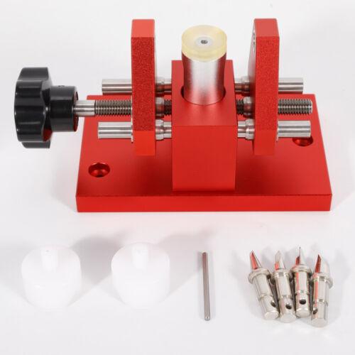 Uhrmacher Werkzeug Uhrenöffner Uhrengehäuseöffner Reparaturset Case Remover DHL