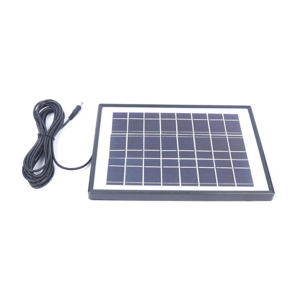 Solar Lighting /& fan DC system Kit Solar Powered Panel+Fan+3x3W 12V Blubs J