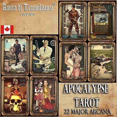 Tarot Oracle Sibyls Deck of Cards Rare Tarot Collectible New Set