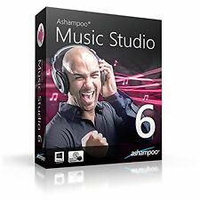 Ashampoo Music Studio 6 dt.Vollvers.ESD Download 13,99 statt 39,99 EUR !!