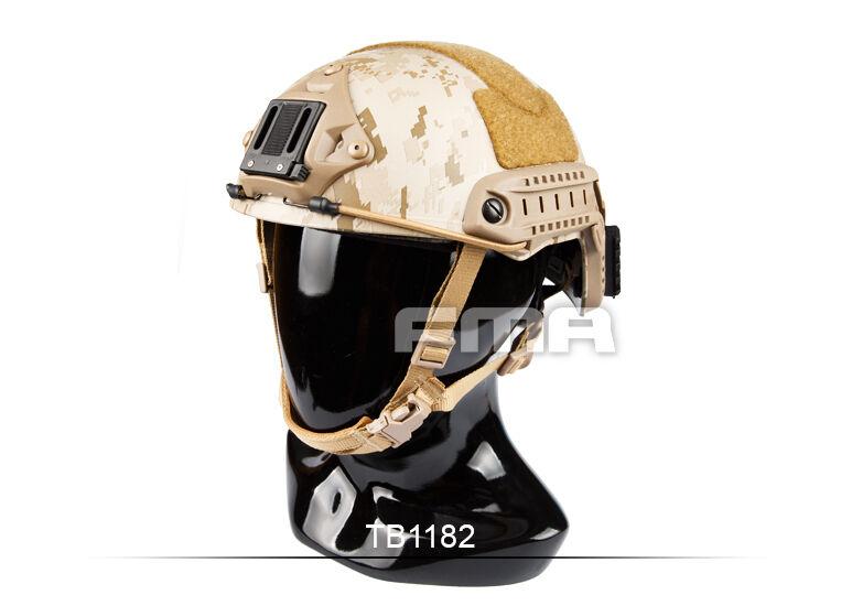 FMA TB1182 casco táctico AOR1 Desierto Digital Color warJuego Airsoft Paintball