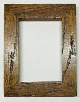 """F054 1-1//2/"""" Mahogany Stained Oak Picture Frame"""