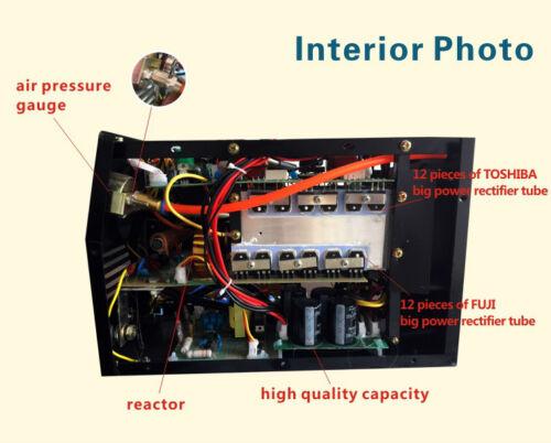 PLASMA CUTTER 50A 110V//220V HF start CUT50 Protable14mm PT31 torch Consumables
