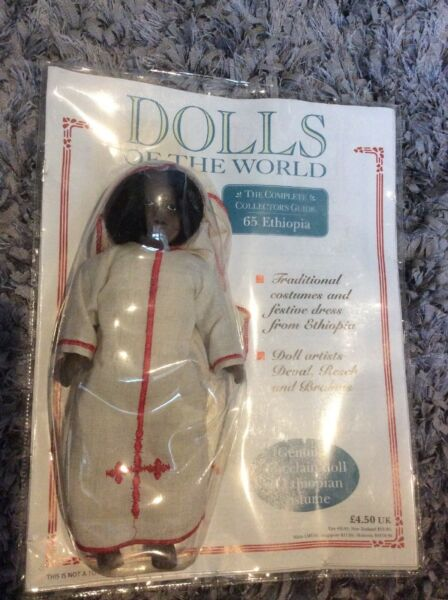 Actif No.65 Ethiopie Porcelaine Dolls Of The World Collectible