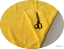 Met or Half Met Luxury BRIGHT YELLOW  Cotton Towelling Fabric Thick and Strong